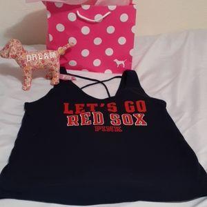 Victoria's Secret Pink Boston Red Sox Tank Small